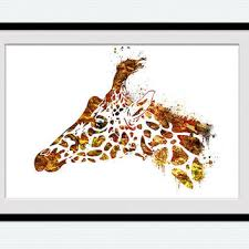 home decor giraffe shop giraffe print home decor on wanelo