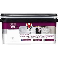r駸ine pour meuble cuisine peinture décolab meuble de cuisine 100 résist v33 blanc 2 l