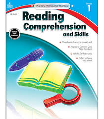reading comprehension grade reading comprehension and skills workbook grade 1 carson dellosa