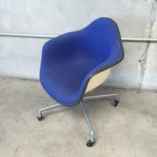 early charles eames pkc wire rolling task chair for herman miller
