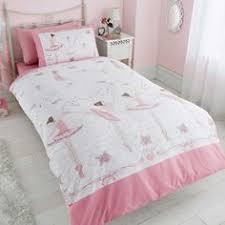 Childrens Duvets Sets Ballerina Dancing Duvet Cover Bed Set Single Pink Kids Club Http