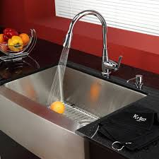 kitchen kitchen sink faucets stainless steel combination kitchen kitchen sink faucets stainless steel combination kraususa inch farmhouse single bowl with chrome faucet