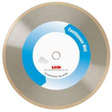 mk diamond 7 in wet cutting continuous rim diamond blade for tile