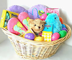 non food gift baskets peeps tastic easter basket idea printable this ole
