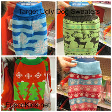 frisco kids target ugly sweaters