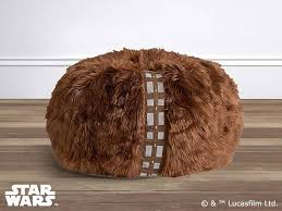 star wars chewbacca furry bean bag gadgetsin