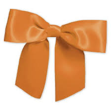 bags of bows gift wrap bows orange pre satin bow bow261 33 by bags bows