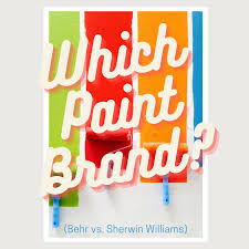 what type of sherwin williams paint is best for kitchen cabinets behr paint vs sherwin williams which one is better
