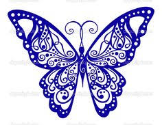 outline butterfly clip free vector for free about 12