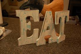 vintage inspired eat letters a pop of pretty blog canadian home