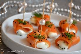 canap au saumon fum recette de roulades de saumon fumé pomme et fromage frais la