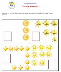 math worksheets for preschool kids activities