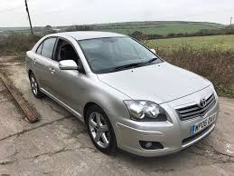 toyota avensis toyota avensis 2 2 d4d t180 5dr silver 2006 diesel in newquay