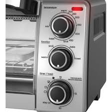 black decker 4 slice toaster oven natural convection to1755sb