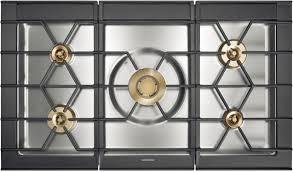 piani cottura gaggenau piano cottura a gas con grill in acciaio inox cg 492 gaggenau