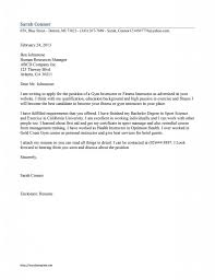resume cover letter examples cosmetologist