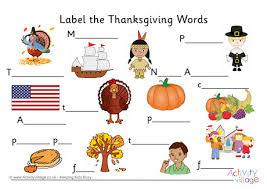 label the thanksgiving words 460 0 jpg