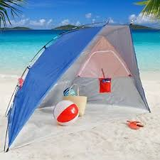 Beach Awnings Canopies Beach Shelter Cabana Portable Sun Shade Canopy Tent Umbrella