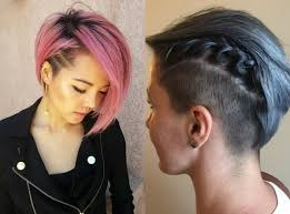 how long should hair be for undercut crazy undercut bob hairstyles to try hairdrome com