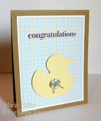 Cricut Craft Room - five simple things a rubber ducky baby card cricut craft room
