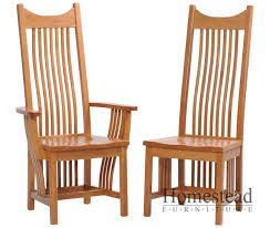 classic mission dining chairs homestead furniture