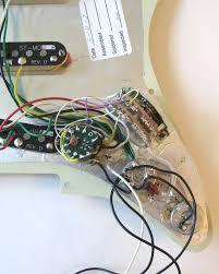 lefty fender deluxe stratocaster pickguard wiring diagram