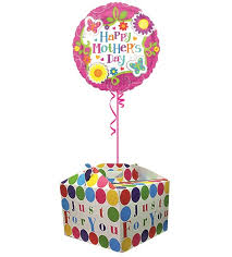 balloon in a box mothers day balloons balloon in a box