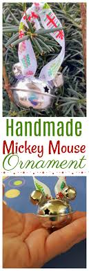 handmade mickey mouse ornament