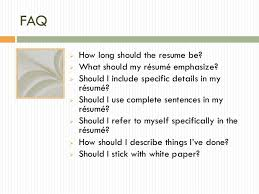 Should I Use Resume Paper Resume Powerpoint