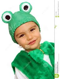 frog halloween costume little boy in fancy dress in the form of frog stock image image