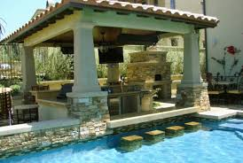 pool and outdoor kitchen designs backyard designs with pool and outdoor kitchen outdoor kitchen