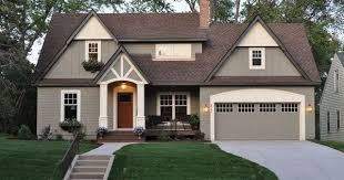 image result for best house color to go with dark brown roof ext