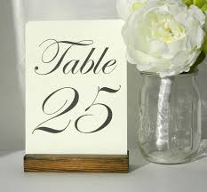 wedding table number holders best 25 table number holders ideas on wine bottle
