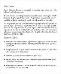 Complaints Letter To Hospital complaint letters in pdf free premium templates