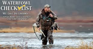 Gander Mountain Layout Blind Waterfowl Hunting Checklist Hunting Pinterest Survival