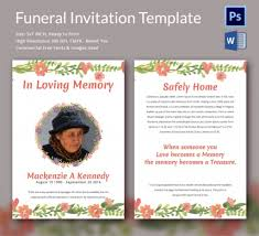 funeral invitation template free funeral invitation templates free paso evolist co