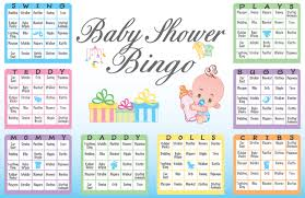 blank baby shower gift bingo cards baby shower diy