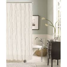 Bed Bath And Beyond Ruffle Shower Curtain - ruffle shower curtain bed bath and beyond curtain menzilperde net