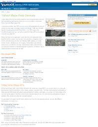 Yahoo Maps Com 12 Apis For Creating The Next Big Mashup U2014 Sitepoint