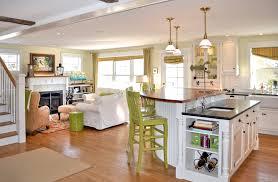bar living room kitchen layout smart open concept living room breakfast bar