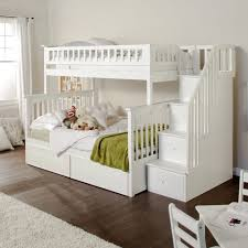 Bunk Beds  Loft Bed With Desk And Storage L Shaped Loft Bed With - White bunk beds with desk