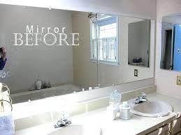 large bathroom mirrors ideas 45 framed bathroom mirror ideas derekhansen me