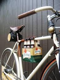 bicycle wine rack tan leather bike bottle holder bicycle model ideas