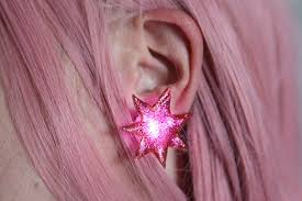 jemstar earrings diy jem and the holograms earrings 7 steps with pictures