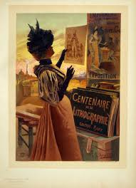 arts and crafts art vintage european posters