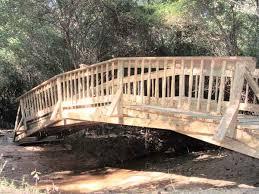 wooden bridge plans 1 30 foot a very versatile and scaleable bridge design for spans up