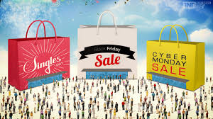 thanksgiving day black friday and cyber monday us is all geared