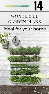 14 wonderful vertical garden plans ideal for your home