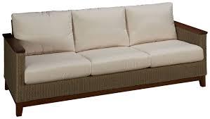 Jensen Outdoor Furniture Jensen Leisure Coral Jensen Leisure Coral Sofa With Cushion