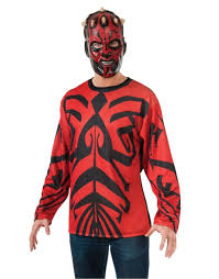 darth maul halloween shirt costume walmart com